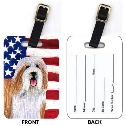 Bearded Collie Luggage Tags IV (Set of 2)