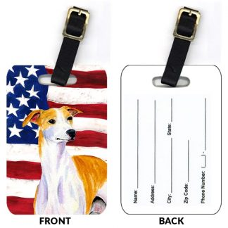 Whippet Luggage Tags II (Set of 2)