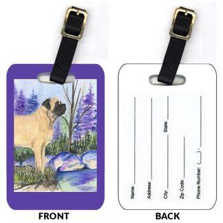 Mastiff Luggage Tags (Set of 2)