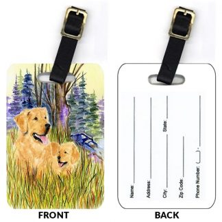 Golden Retriever Luggage Tags II (Set of 2)