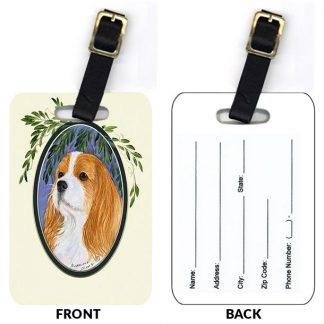 Cavalier Spaniel Luggage Tags II (Set of 2)