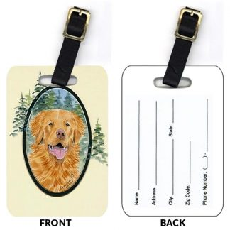 Nova Scotia Duck Toller Luggage Tags II (Set of 2)
