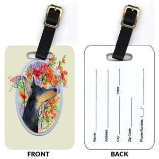 Doberman Pinscher Luggage Tags III (Set of 2)