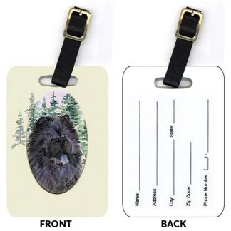 Chow Chow Luggage Tags III (Set of 2)