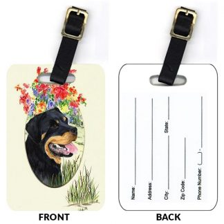 Rottweiler Luggage Tags III (Set of 2)
