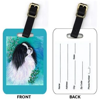 Japanese Chin Luggage Tags III (Set of 2)
