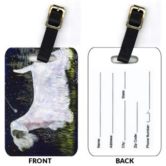 Sealyham Terrier Luggage Tags (Set of 2)