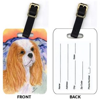 Cavalier Spaniel Luggage Tags III (Set of 2)