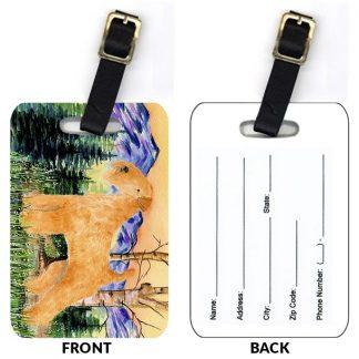 Lakeland Terrier Luggage Tags (Set of 2)