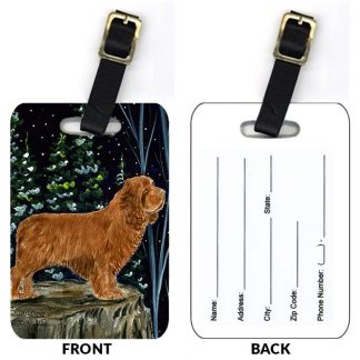 Sussex Spaniel Luggage Tags III (Set of 2)