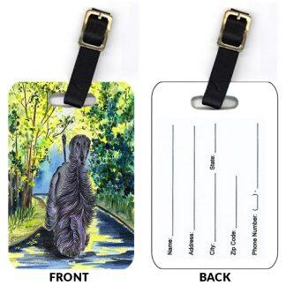 Afghan Hound Luggage Tags III (Set of 2)