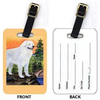 Kuvasz Luggage Tags II (Set of 2)