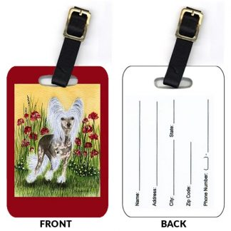 Chinese Crested Luggage Tags II (Set of 2)