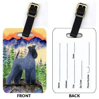Kerry Blue Terrier Luggage Tags II (Set of 2)