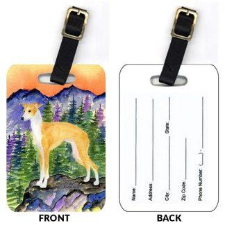 Italian Greyhound Luggage Tags II (Set of 2)