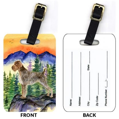 German Wirehair Pointer Luggage Tags II (Set of 2)