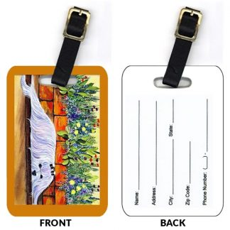 Maltese Luggage Tags III (Set of 2)