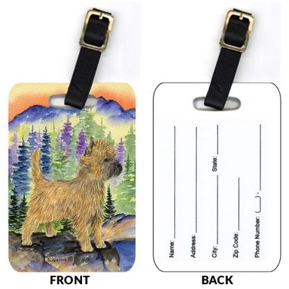 Cairn Terrier Luggage Tags III (Set of 2)