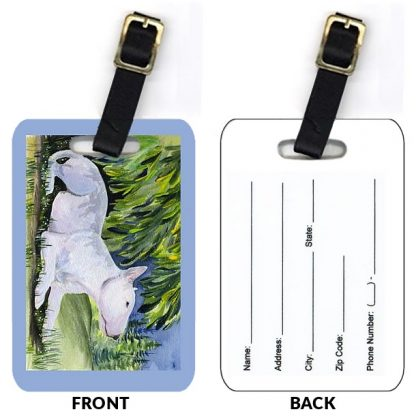 Bull Terrier Luggage Tags IV (Set of 2)