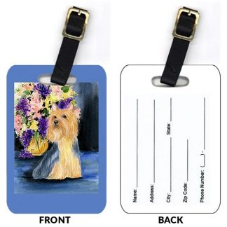 Silky Terrier Luggage Tags III (Set of 2)