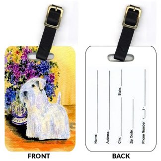 Sealyham Terrier Luggage Tags II (Set of 2)