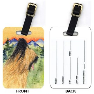 Briard Luggage Tags IV (Set of 2)