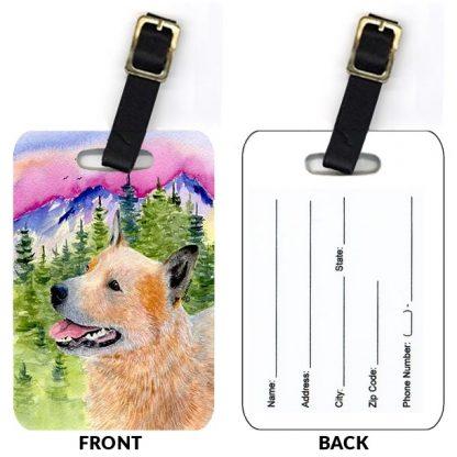 Australian Cattle Dog Luggage Tags III (Set of 2)