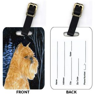 Brussels Griffon Luggage Tags II (Set of 2)