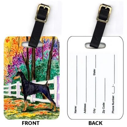 Doberman Pinscher Luggage Tags IV (Set of 2)