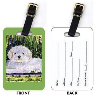 Coton de Tulear Luggage Tags II (Set of 2)