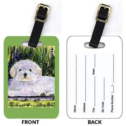 Coton de Tulear Luggage Tags II (Set of 2)