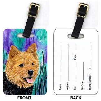 Norwich Terrier Luggage Tags III (Set of 2)