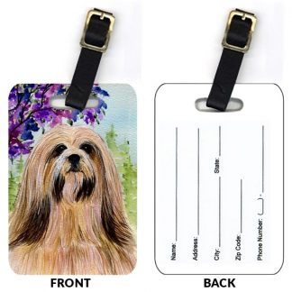 Lhasa Apso Luggage Tags II (Set of 2)