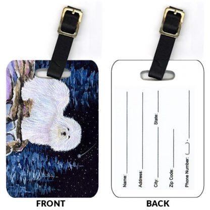 Coton de Tulear Luggage Tags (Set of 2)