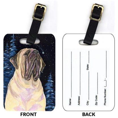 Mastiff Luggage Tags II (Set of 2)