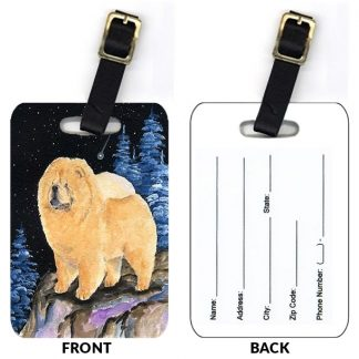Chow Chow Luggage Tags II (Set of 2)