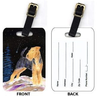 Welsh Terrier Luggage Tags (Set of 2)