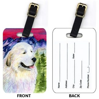 Great Pyrenees Luggage Tags II (Set of 2)