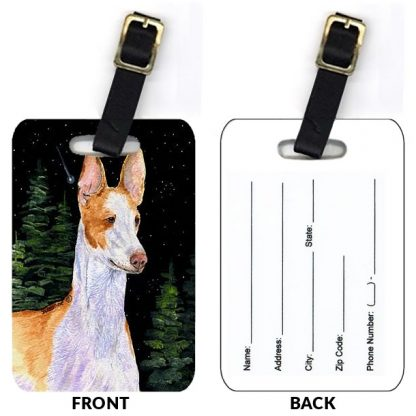 Ibizan Hound Luggage Tags (Set of 2)
