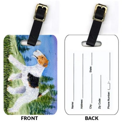 Wire Fox Terrier Luggage Tags IV (Set of 2)