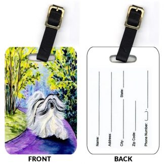 Tibetan Terrier Luggage Tags II (Set of 2)