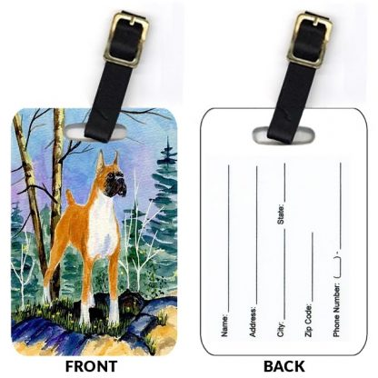 Boxer Luggage Tags IV (Set of 2)