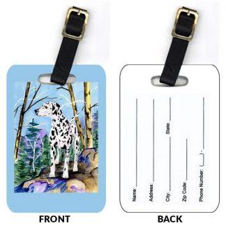 Dalmatian Luggage Tags III (Set of 2)