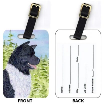 Akita Luggage Tags II (Set of 2)
