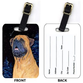 Bullmastiff Luggage Tags III (Set of 2)