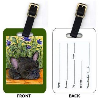 French Bulldog Luggage Tags III (Set of 2)