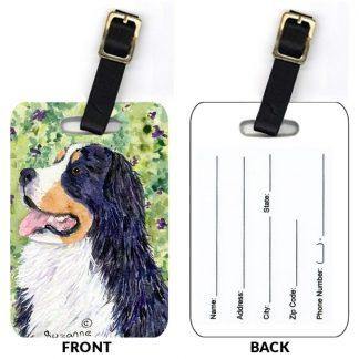 Bernese Mountain Dog Luggage Tags II (Set of 2)