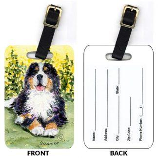 Bernese Mountain Dog Luggage Tags III (Set of 2)