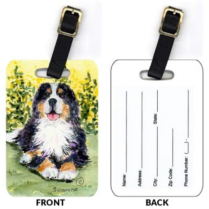 Bernese Mountain Dog Luggage Tags III (Set of 2)