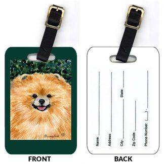 Pomeranian Luggage Tags III (Set of 2)